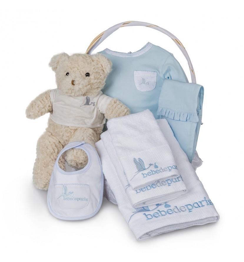 Canasta Spa Bebé Esencial Azul