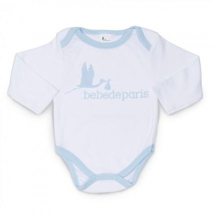 Body Bebé Básico Azul