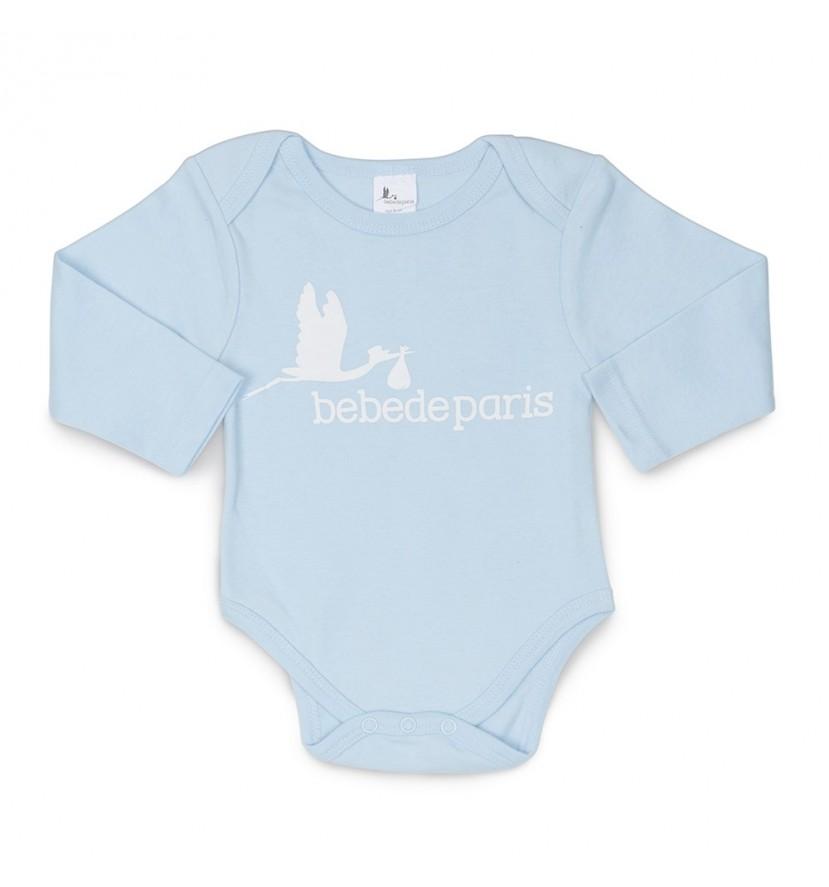 Body Bebé Color Azul