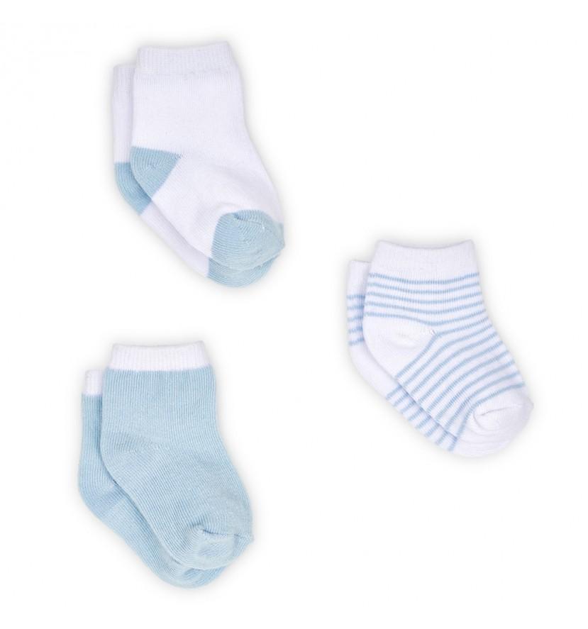 Set Calcetines Bebé Azul