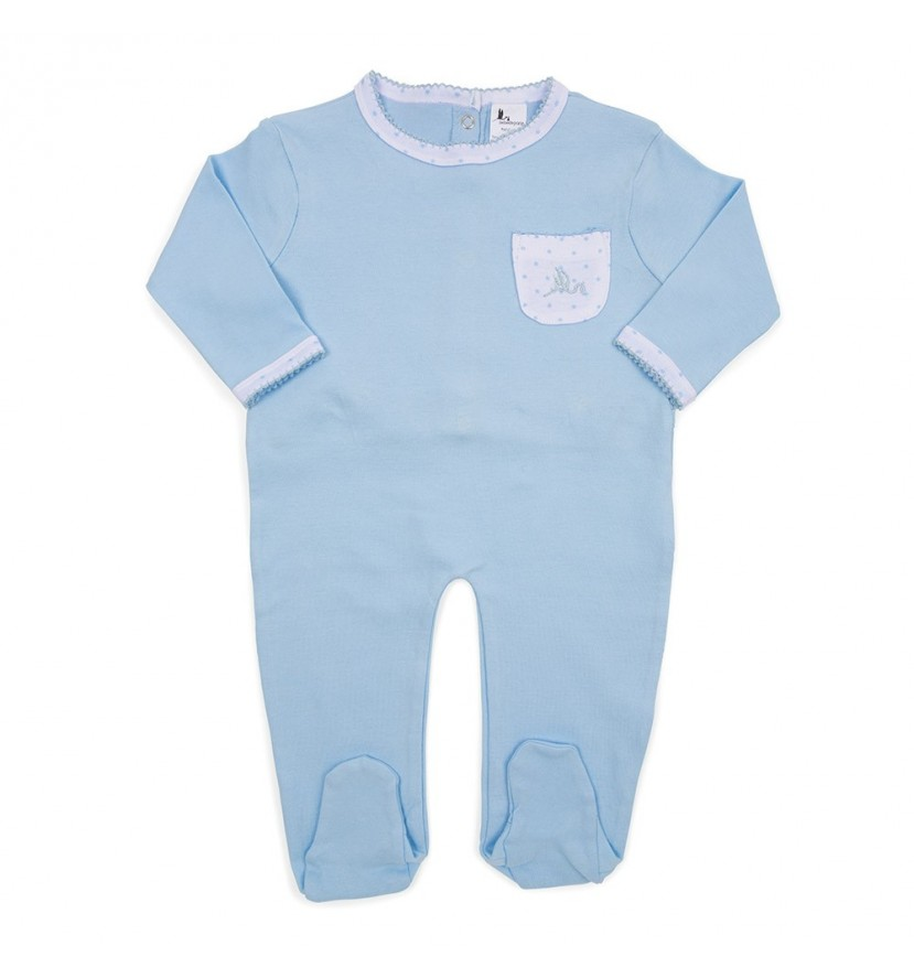 Pijama Bebé Estrellas Azul