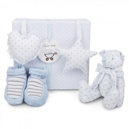 Set Regalo Bebé Osito Azul