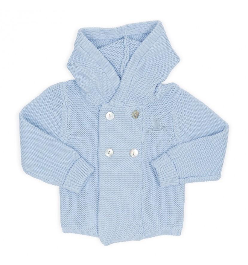 Chamarra Bebé Clásica Azul