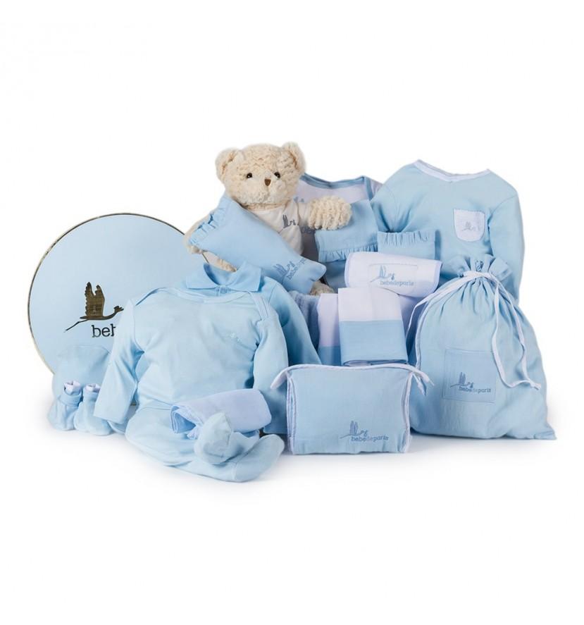 Caja Vintage Clásica Ensueño Azul