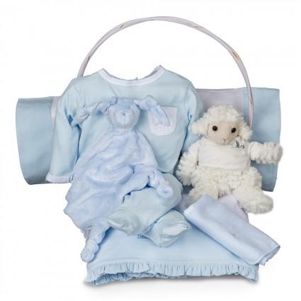 Canasta Bebé Serenity Esencial Azul