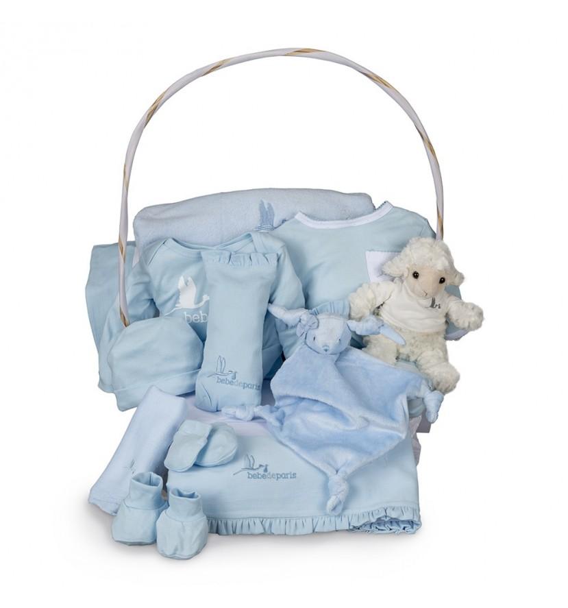 Canasta Bebé Serenity Plena Azul