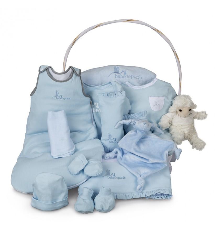 Canasta Bebé Serenity Ensueño Azul