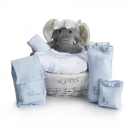 Canasta Bebé Post Hospital Esencial Azul