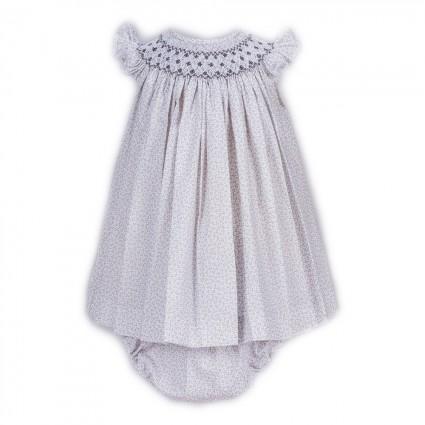 Vestido Bebé Niña Liberty Gris