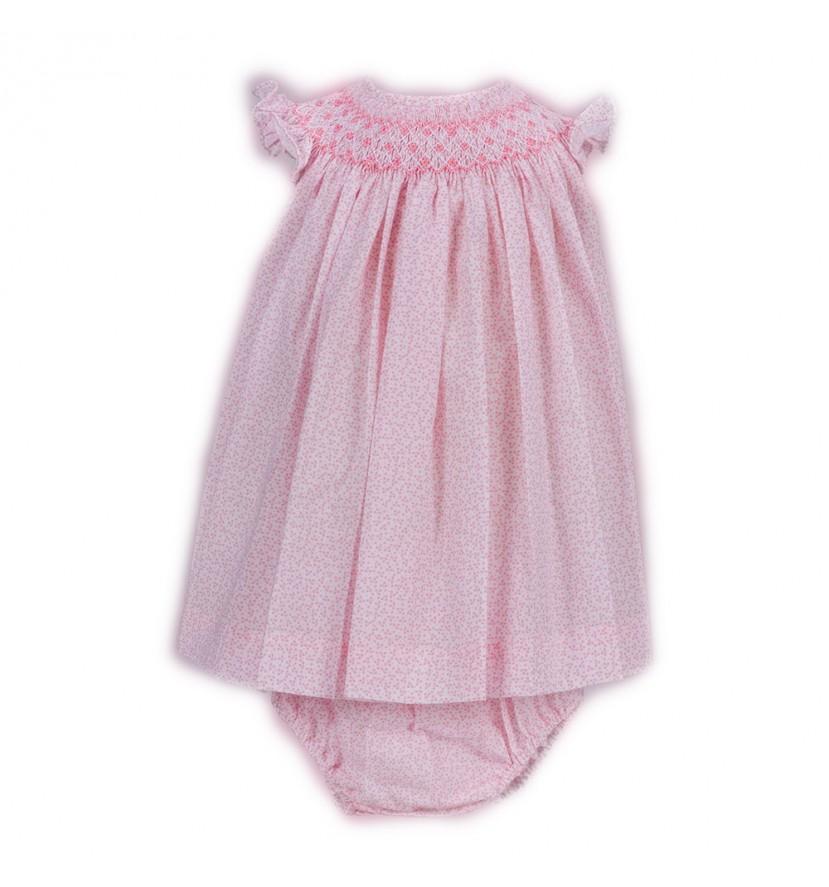 Vestido Bebé Niña Liberty Rosa