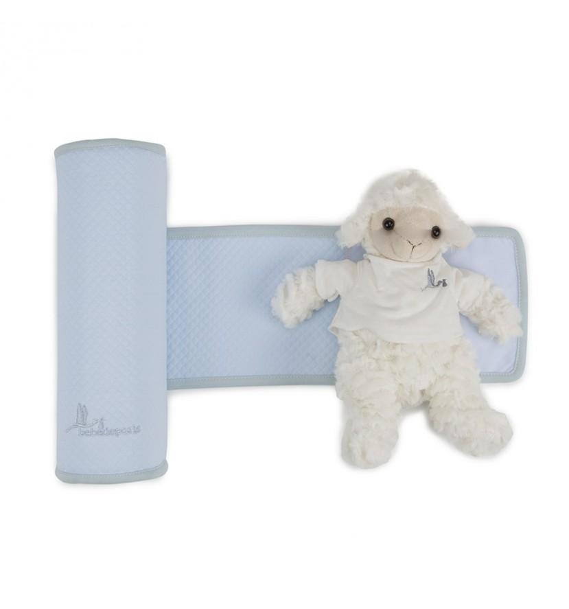 Cojín Anti-vuelco Bebé Azul