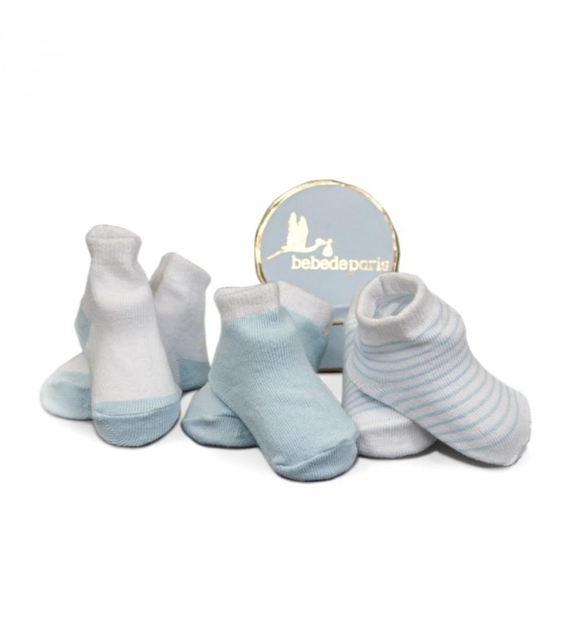 Set Regalo Mis Primeros Calcetines Azul