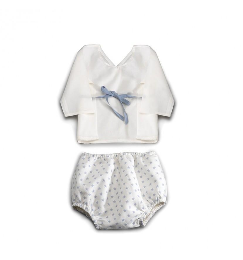 Conjunto Bebé Atelier Estrellas Azul