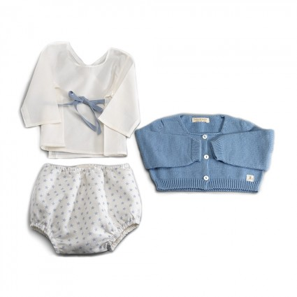 Conjunto Bebé Atelier New York Azul