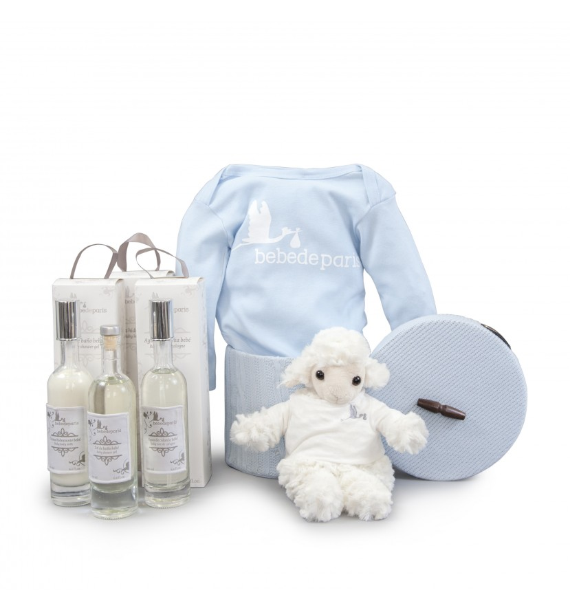 Canasta Cosmética Bebé  Esencial Azul